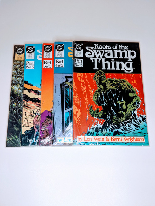 The Roots Of The Swamp Thing Collection #1-#5 - 1986 - DC - VG