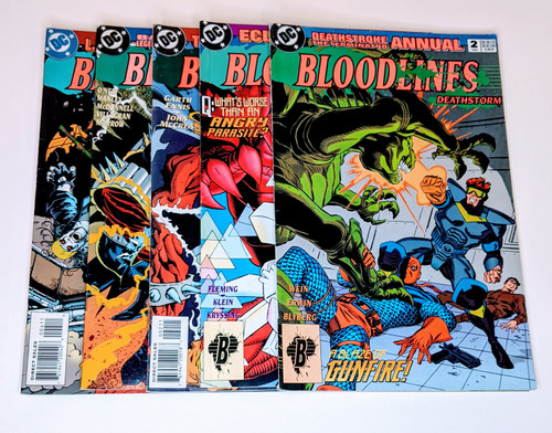 Bloodlines: Deathstorm Collection - 1993 - DC Comics - VG