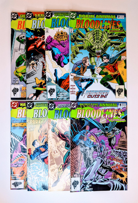 Bloodlines: Earthplague Collection - 1993 - DC Comics - VG