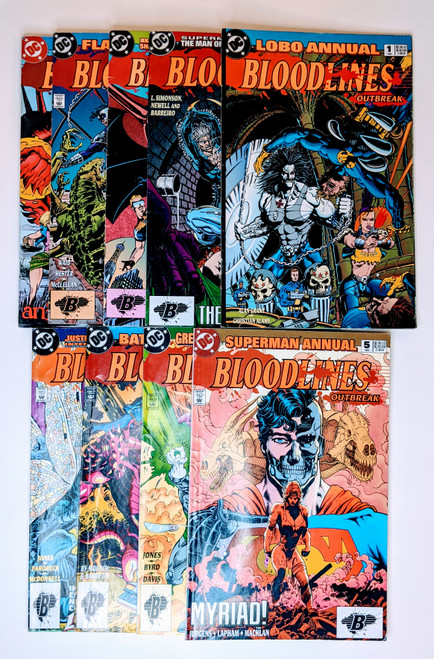 Bloodlines: Outbreak Collection - 1993 - DC Comics - VG