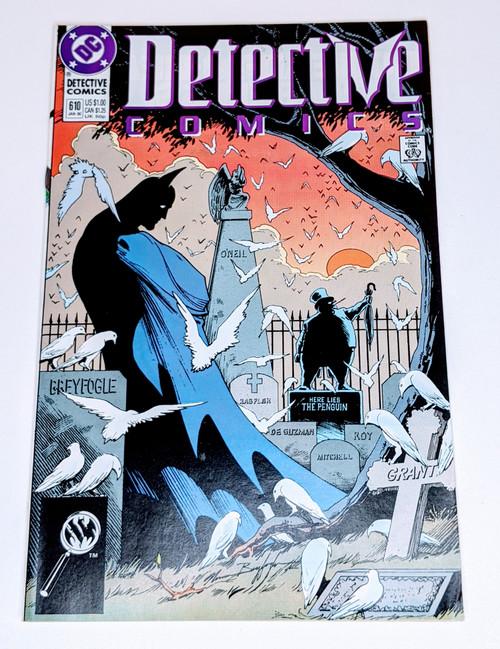 Detective Comics #610 - 1989 - DC Comic - FN
