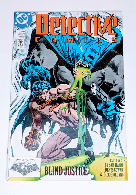 Detective Comics #599 - 1989 - DC Comic - FF