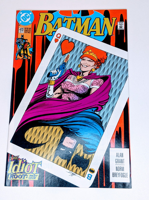 Batman #472 - 1991 - DC Comic - VG