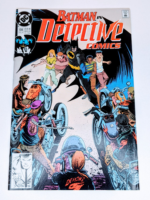 Batman #614 - 1990 - DC Comic - VG