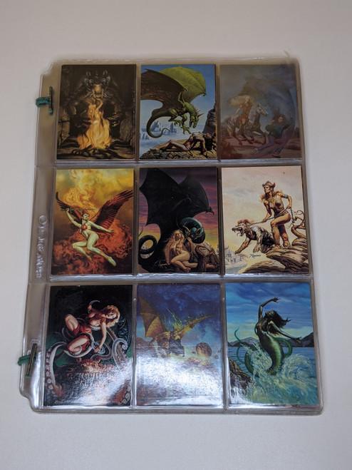 Rowena Morrill FPG cards - 1993 - 59 Card Bundle - VG
