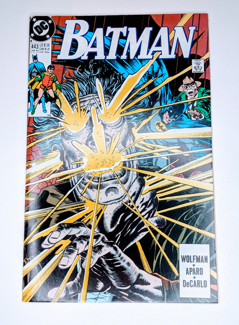 Batman #443 - 1989 - DC Comic - FF