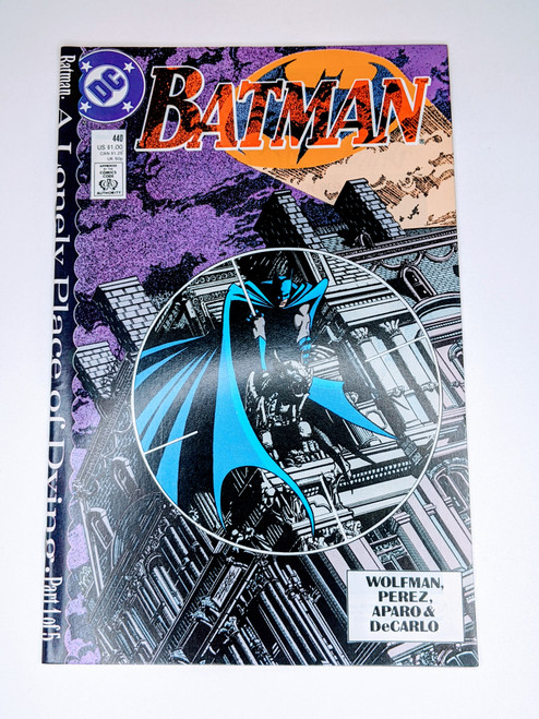 Batman #440 - 1989 - DC Comic - NM