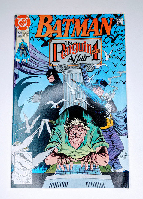 Batman #448 - 1990 - DC Comic - VG