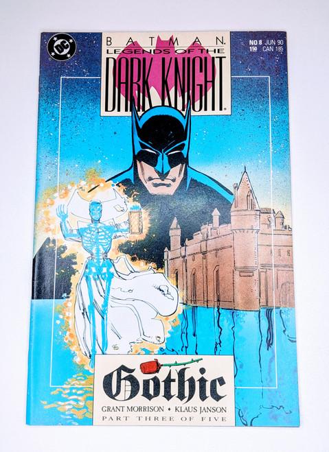 Batman: Legends of the Dark Knight #8 - 1990 - DC Comic - NM