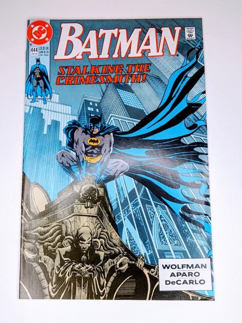 Batman #444 - 1989 - DC Comic - VG