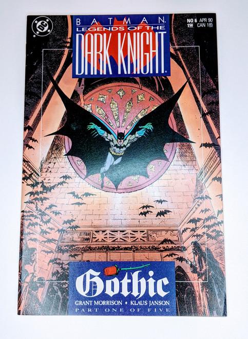 Batman: Legends of the Dark Knight #6 - 1990 - DC Comic - NM