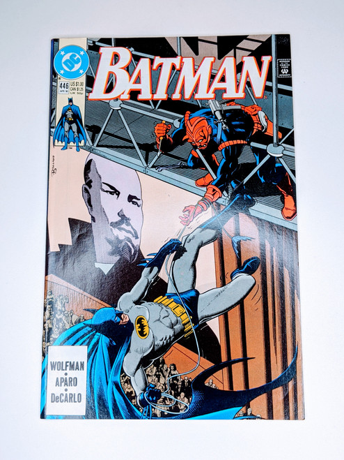 Batman #446 - 1990 - DC Comic - VG