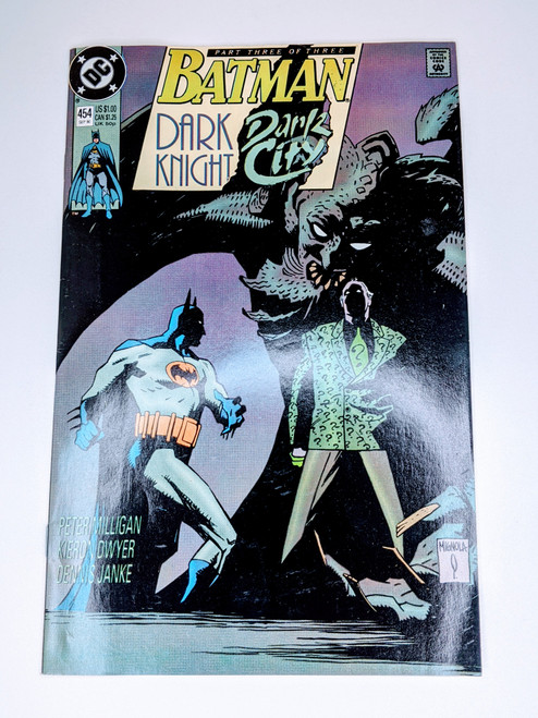 Batman #454 - 1990 - DC Comic - FN