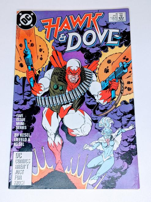 Hawk & Dove Annual #4 - 1988 - DC Comic - VG