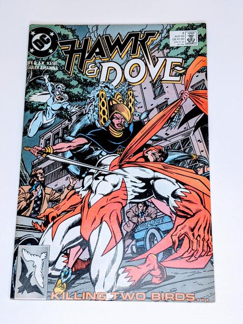 Hawk & Dove #3 - 1989 - DC Comic - VG