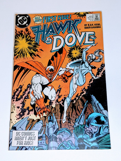 Hawk & Dove #1 - 1989 - DC Comic - VG