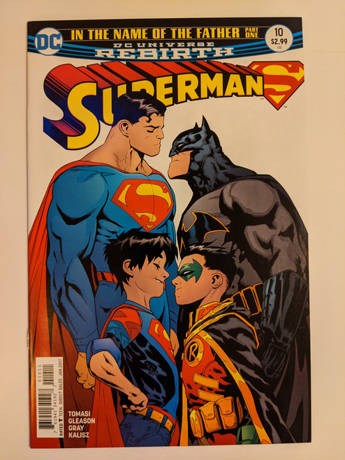 Superman Volume 4 #10 - In The Name Of The Father Part One - 2017 - DC Comic - NM
