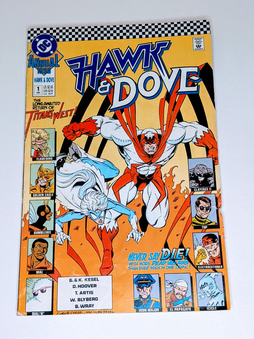 Hawk & Dove Annual #1 - 1988 - DC Comic - FR