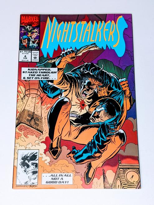 Nightstalkers #4 - 1993 - Marvel Comic - VG