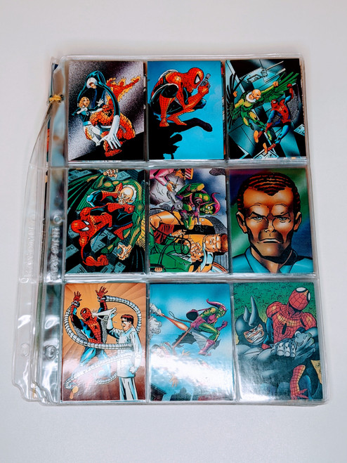 Spiderman II 30th Anniversary Comic Images cards - 1992 - 59 Card Bundle - VG