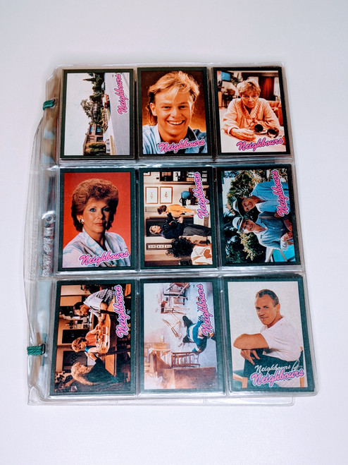 Neighbours Topps/Grundy Television Cards - 1988 - 42 Card Bundle - VG