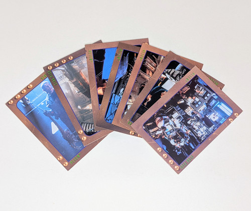 Alien 3 Behind The Scenes Star Pics Inc Cards - 1992 - 7 Card Bundle - GD