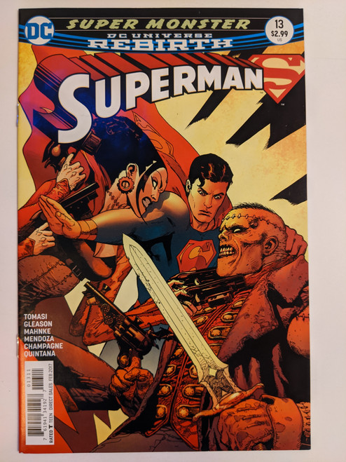 Superman Volume 4 #13 - Super Monster Part Two - 2017 - DC Comic - NM