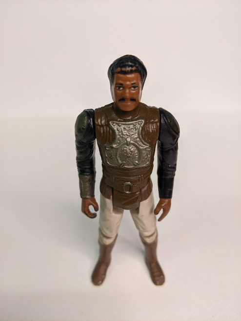 Star Wars: Return Of The Jedi Lando Calrissian Figure - 1983 - Kenner - GD