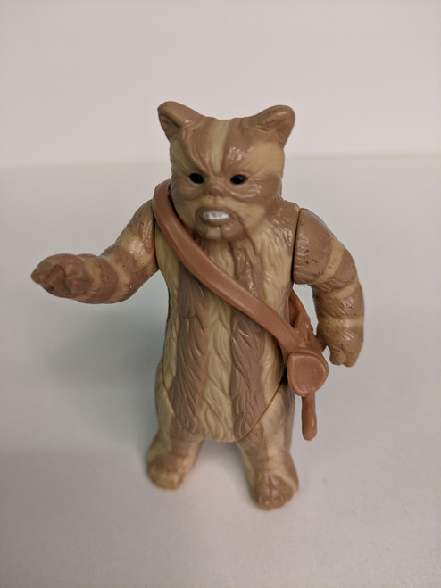 Star Wars: Return Of The Jedi Logray with Satchel Figure - 1983 - Kenner - VG
