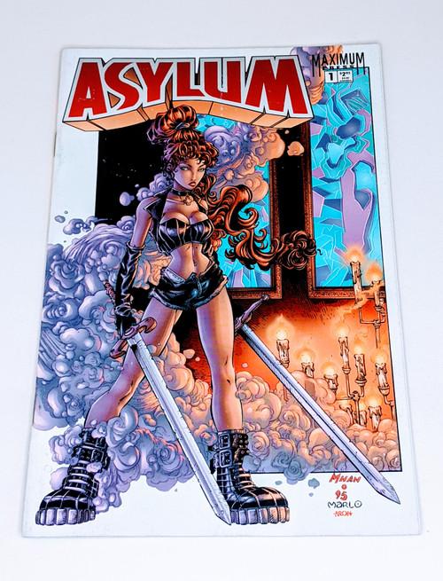 Asylum #1 - 1995 - Maximum Press Comic - VG