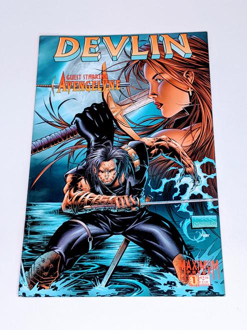 Devlin #1 - 1996 - Maximum Press Comic - VG