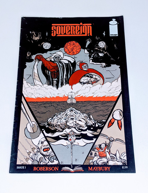 Sovereign #1 - 2014 - Image Comic - GD