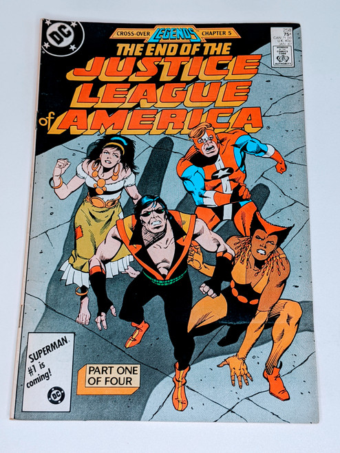 Justice League #258 - The End of The Justice League of America: Part One of Four - 1986 - DC Comic - VG