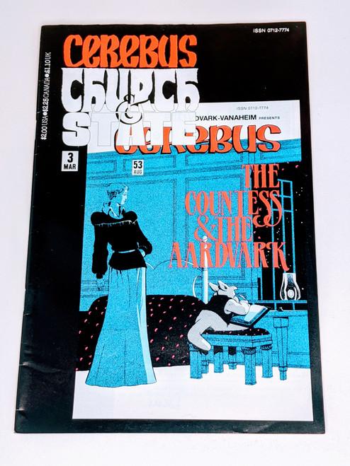 Cerebus: Church and State #3 - 1991 - Aadvark-Vanheim Comic - VG