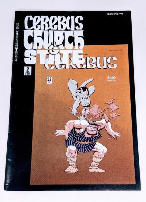 Cerebus: Church and State #2 - 1991 - Aadvark-Vanheim Comic - VG
