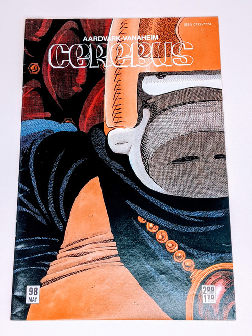 Cerebus #98 - 1987 - Aadvark-Vanheim Comic - VG
