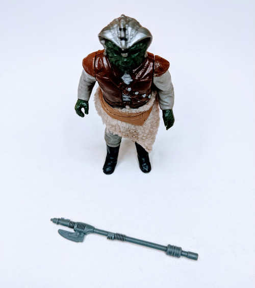 Star Wars: Return Of The Jedi Klaatu Figure with Weapon + Skirt - 1983 - Kenner - VG