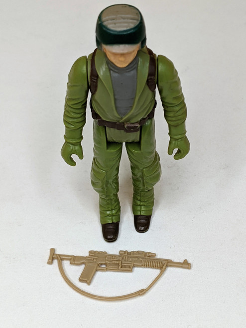 Star Wars: Return Of The Jedi Endor Soldier Figure With Weapon - 1983 - Kenner