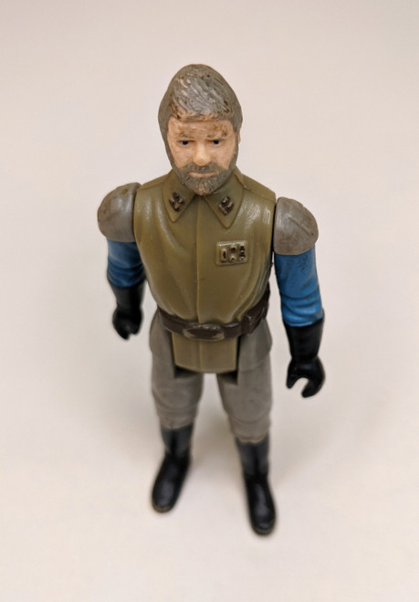 Star Wars: Return Of The Jedi General Madine Figure - 1983 - GD