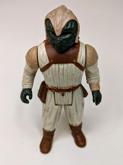 Star Wars: Return Of The Jedi Klaatu Skiff Guard Outfit Figure - 1983 - VG