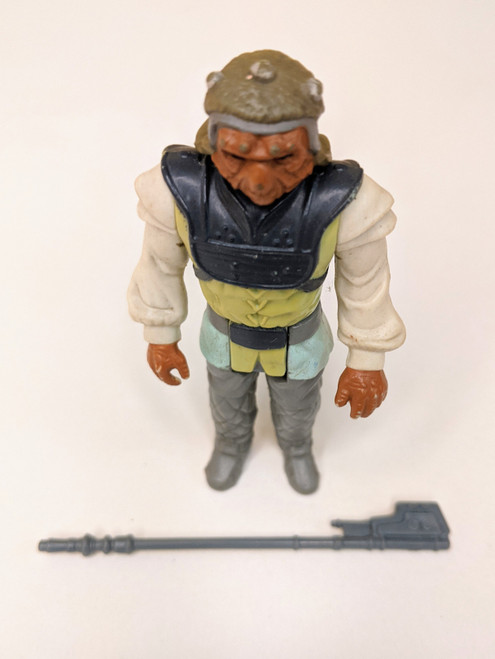 Star Wars: Return Of The Jedi Nikto Figure With Weapon- 1983 - Kenner - VG