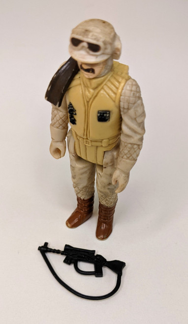 Star Wars: The Empire Strikes Back Rebel Commander Figure With Weapon- 1981 - Kenner - GD