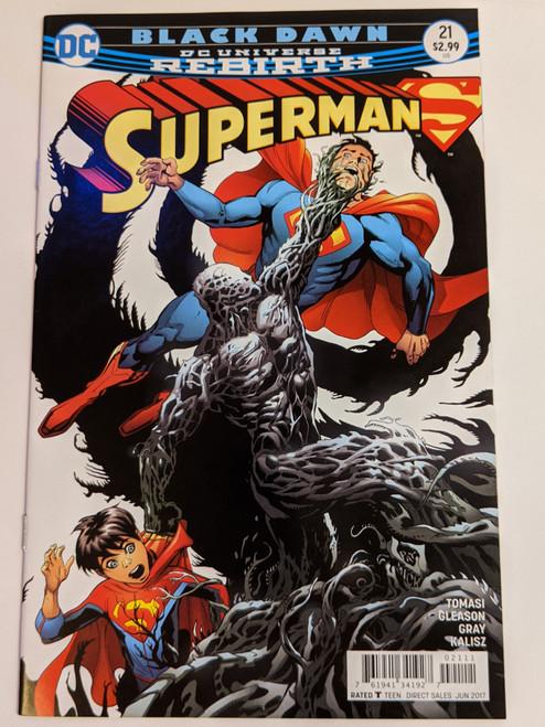 Superman Volume 4 #21 - Black Dawn - 2017 - DC Comic - NM
