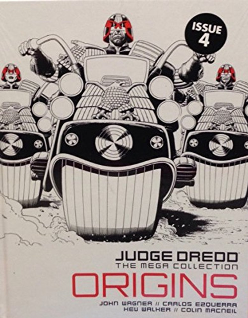 Judge Dredd: The Mega Collection - Origins - 2015 - 2000 AD/Hatchette