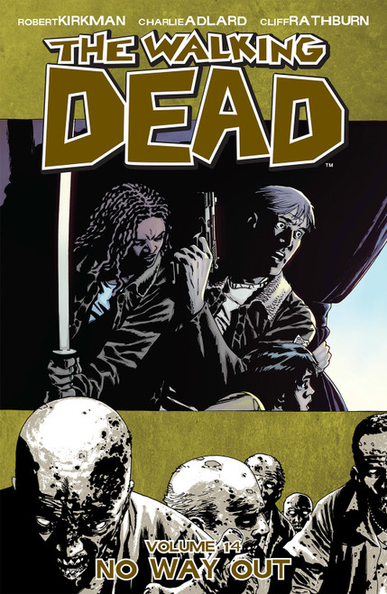 The Walking Dead: Volume 14 - No Way Out - 2011 - PB - Image Graphic Novel
