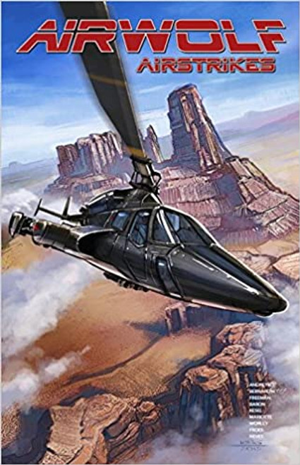 Airwolf Airstrikes - 2015 - PB - Lion Forge Graphic Novel
