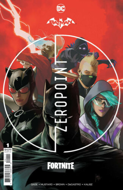 Batman/Fortnite: Zero Point #1 (3rd Printing - Game DLC code included) - DC Comic - Delayed - Released 9/6/21