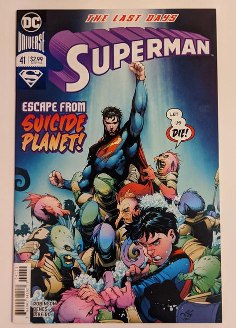 Superman Volume 4 #41 - The Last Days - 2018 - DC Comic - NM