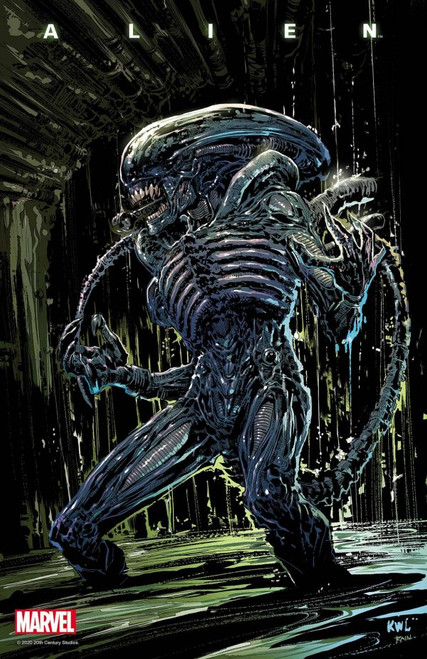 Alien #4 - Lashley Variant - Marvel Comic - 16/06/21