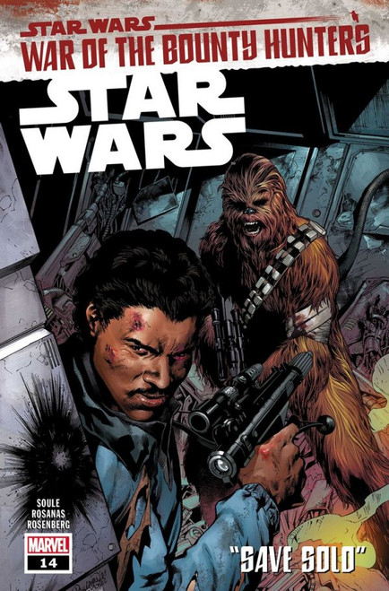 Star Wars #14 - War of the Bounty Hunters, Part I: Save Solo - Marvel Comic - 16/06/21